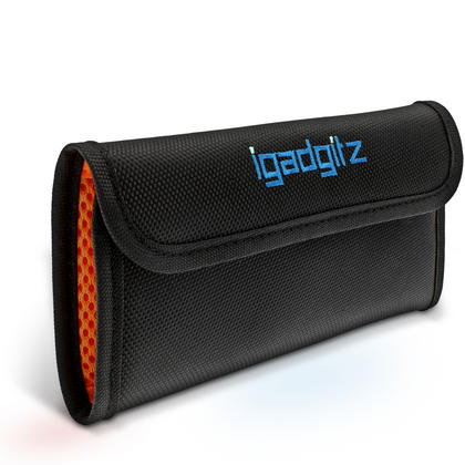 iGadgitz 4 Pocket Slot Bag Pouch Holder Storage Case for SLR DSLR Camera Lens Filters Thumbnail 2