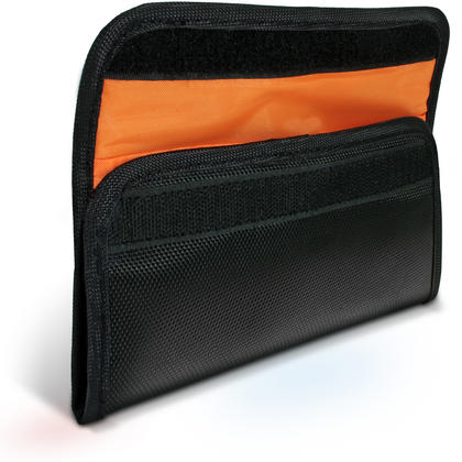 iGadgitz 4 Pocket Slot Bag Pouch Holder Storage Case for SLR DSLR Camera Lens Filters Thumbnail 3
