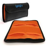 iGadgitz 4 Pocket Slot Bag Pouch Holder Storage Case for SLR DSLR Camera Lens Filters