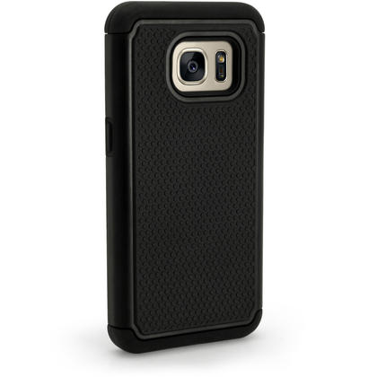 iGadgitz Hard PC Back Shell Cover & Silicone Bumper Case for Samsung Galaxy S7 SM-G930 + Screen Protector Thumbnail 5