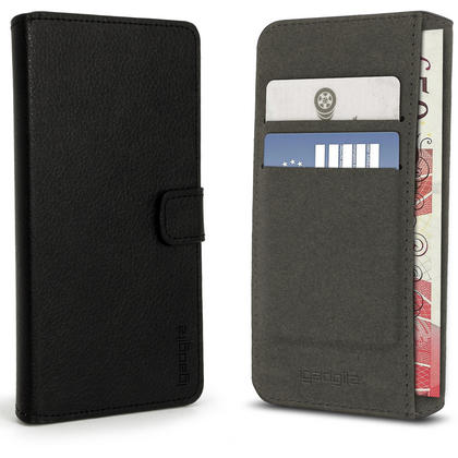 iGadgitz Premium Wallet Flip PU Leather Case Cover for Huawei Mate 8 With Stand + Card Slots + Screen Protector Thumbnail 3
