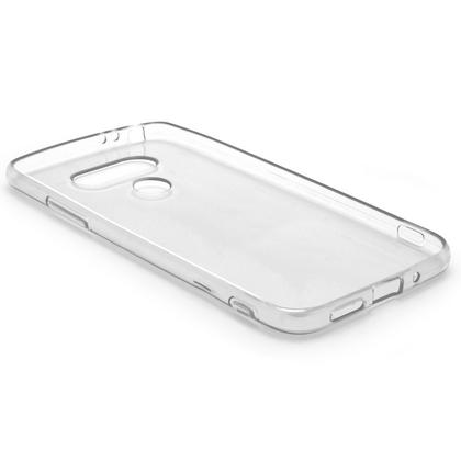 iGadgitz Glossy TPU Gel Skin Case Cover for LG G5 H850 (2016) + Screen Protector Thumbnail 2