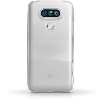 iGadgitz Glossy TPU Gel Skin Case Cover for LG G5 H850 (2016) + Screen Protector Thumbnail 4