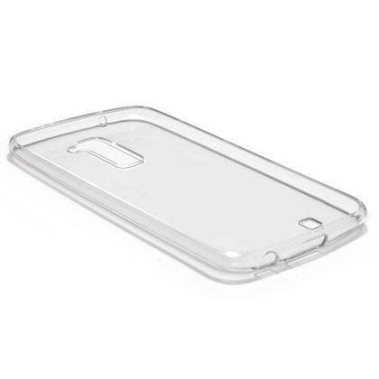 iGadgitz Glossy TPU Gel Skin Case Cover for LG K10 K420N (2016) + Screen Protector Thumbnail 2