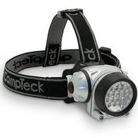 CampTeck Lunar 18 Super Bright 18 White LED Headlamp Headlight, 2 Red LED - 4 Light Modes