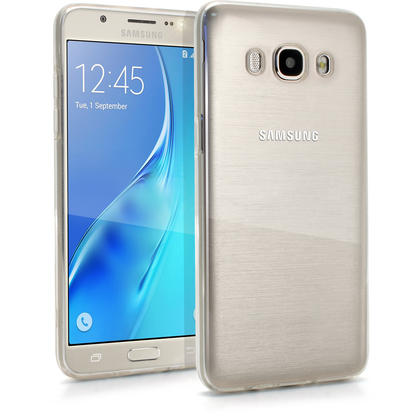 iGadgitz Glossy TPU Gel Skin Case Cover for Samsung Galaxy J5 J510FN (2016) + Screen Protector Thumbnail 1