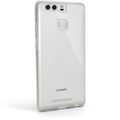 iGadgitz Glossy TPU Gel Skin Case Cover for Huawei P9 (2016) + Screen Protector Thumbnail 4