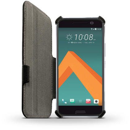 iGadgitz Premium Folio PU Leather Case Cover for HTC 10 (2016) with Stand + Screen Protector Thumbnail 3