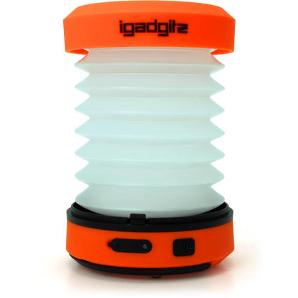 iGadgitz Xtra Lumin Eco Dynamo Rechargeable Pop Up Collapsible LED Lantern & Torch + Emergency Charger + 3 Year Warranty Thumbnail 5