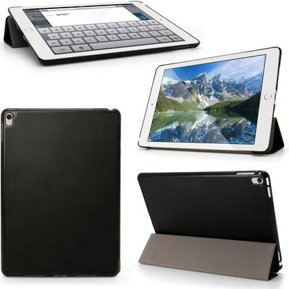 "iGadgitz PU Leather Smart Cover Case for Apple iPad Pro 9.7"" (2016) with Sleep Wake + Stand + Screen Protector Thumbnail 1"