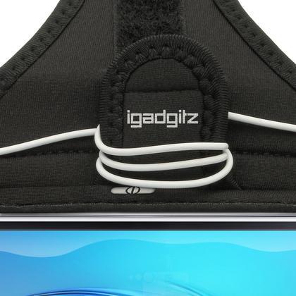 iGadgitz Water Resistant Running Jogging Gym Sports Armband for Samsung Galaxy J1 J120 (2016) Thumbnail 5