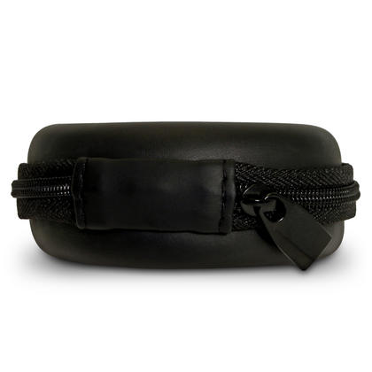 iGadgitz Black EVA Zipper Carrying Hard Case for Earphones (Apple, JVC, Sony, Philips, Senheisser,  Beats, Bose, etc.) Thumbnail 5