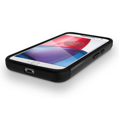 iGadgitz Hard PC Back Shell Cover & Silicone Bumper Case for Motorola Moto G 4th Gen XT1622 (Moto G4) & G4 Plus XT1644 Thumbnail 2