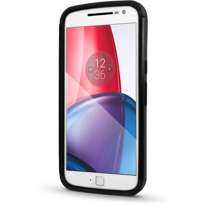 iGadgitz Hard PC Back Shell Cover & Silicone Bumper Case for Motorola Moto G 4th Gen XT1622 (Moto G4) & G4 Plus XT1644 Thumbnail 3