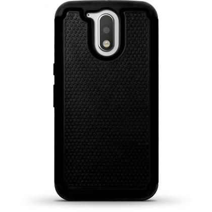 iGadgitz Hard PC Back Shell Cover & Silicone Bumper Case for Motorola Moto G 4th Gen XT1622 (Moto G4) & G4 Plus XT1644 Thumbnail 4