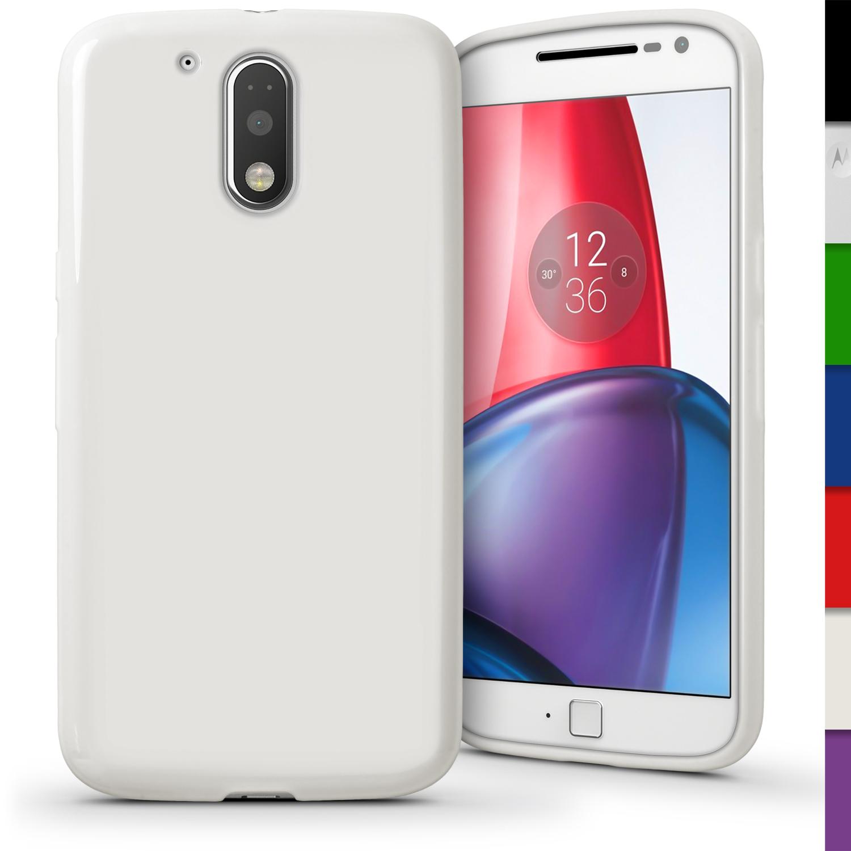 low priced 7cc6f 67b6b Glossy TPU Gel Case for Motorola Moto G 4th Gen XT1622 & G4 Plus 2016 Skin  Cover