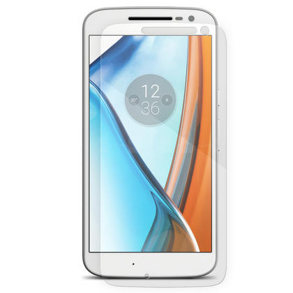 iGadgitz Tempered Glass Screen Protector for Motorola Moto G 4th Generation XT1622 Shatterproof 9H Hardness Anti Scratch Thumbnail 3