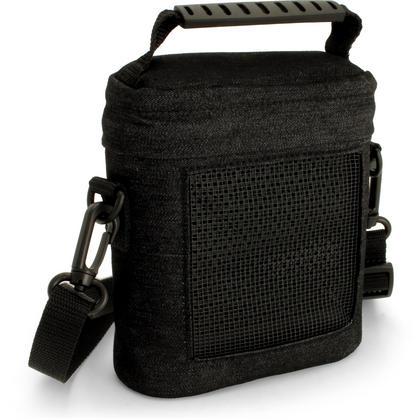 iGadgitz Black Fabric Travel Carrying Bag for Bose SoundLink Colour Bluetooth Speaker with Detachable Shoulder Strap Thumbnail 1
