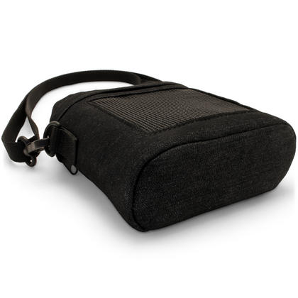 iGadgitz Black Fabric Travel Carrying Bag for Bose SoundLink Colour Bluetooth Speaker with Detachable Shoulder Strap Thumbnail 4