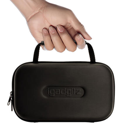 iGadigtz Black EVA Carrying Hard Travel Case Cover for Bose SoundLink Mini I & II Bluetooth Speaker Thumbnail 2