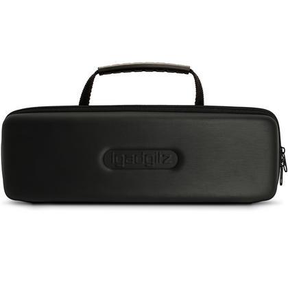 iGadigtz Black EVA Carrying Hard Travel Case Cover for Amazon Echo & Echo Plus Thumbnail 2