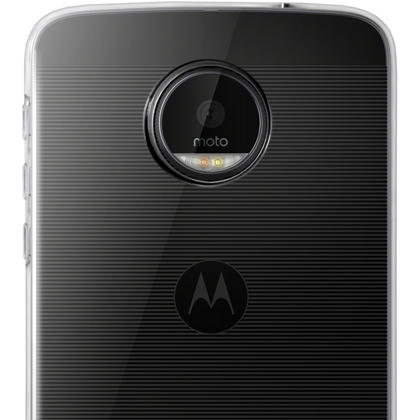 iGadgitz Glossy TPU Gel Skin Case Cover for Motorola Moto Z & Z Droid + Screen Protector Thumbnail 3