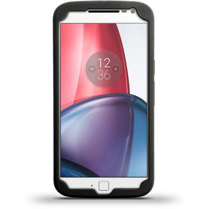 iGadgitz Black Tyre Silicone Gel Case Cover for Motorola Moto G 4th Generation XT1622 (Moto G4) & Moto G4 Plus XT1644 Thumbnail 4