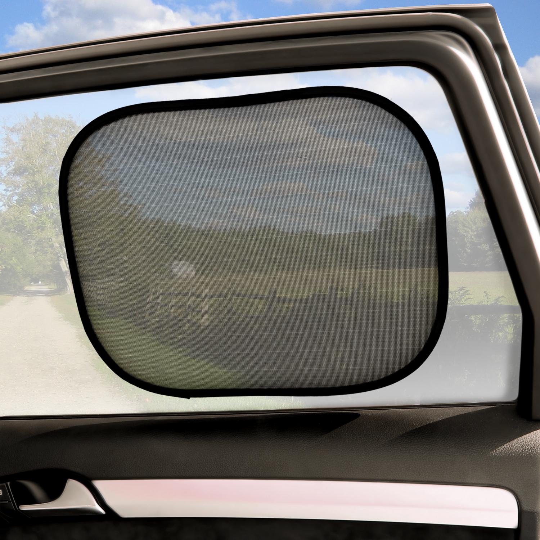 Car Window Shades >> Details About 2x Universal Car Window Sunshade Anti Uv Blinds Sun Visor Shield Baby Protection
