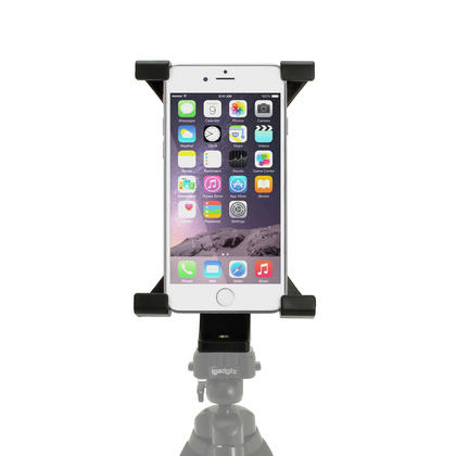"iGadgitz Universal Tablet Holder Mount Bracket for Tripods with 1/4 Inch Screw Thread ? Fits tablets 7"" - 10"" Tablets Thumbnail 7"