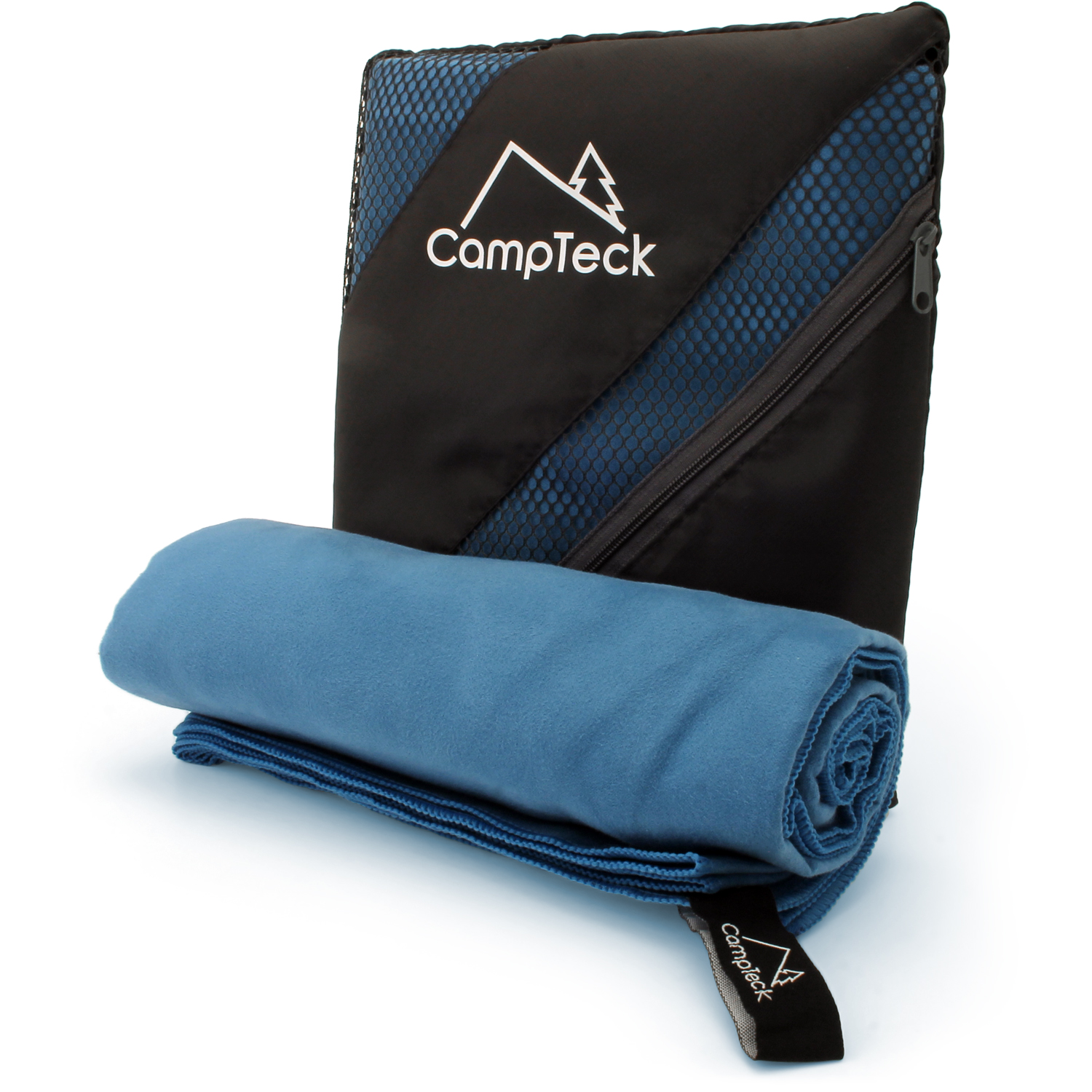 CampTeck Large (180x80cm) Lightweight and Compact Microfibre Towel for Sports, Gym, Beach, Swimming, Yoga, Camping