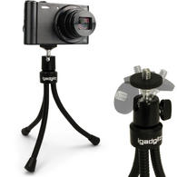 iGadgitz Flexible Large Table Top Tripod for Digital Compact Cameras ? Black