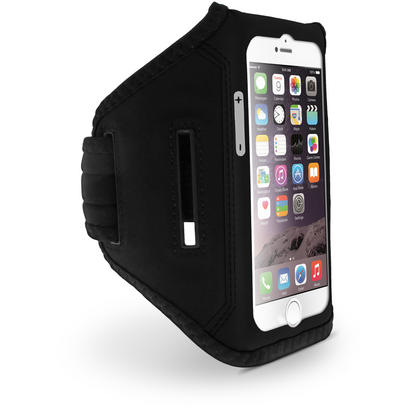 "iGadgitz Water Resistant Lightweight Neoprene Sports Jogging Gym Armband for Apple iPhone 7 & 8 4.7"" with Key Slot Thumbnail 2"