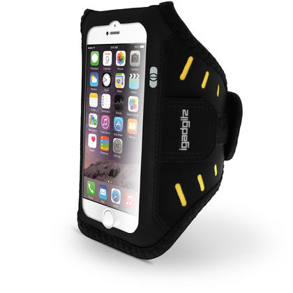 "iGadgitz Water Resistant Lightweight Neoprene Sports Jogging Gym Armband for Apple iPhone 7 & 8 4.7"" with Key Slot Thumbnail 3"