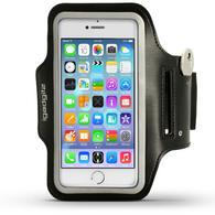 """iGadgitz Reflective Anti-Slip Sports Jogging Gym Armband for Apple iPhone 7 & 8 4.7"""" with Key Slot"""
