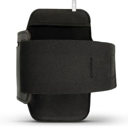 iGadgitz Reflective Black Sports Jogging Gym Armband for BlackBerry DTEK50 (BlackBerry Neon) with Key Slot Thumbnail 3