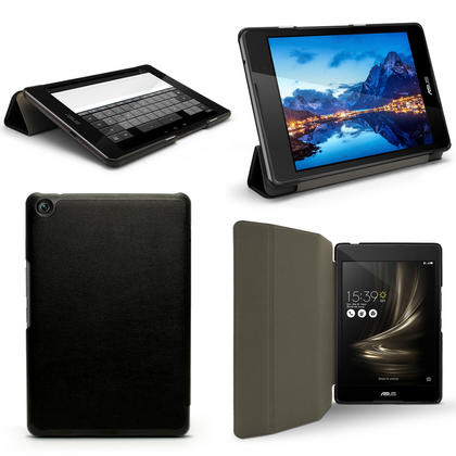 """iGadgitz PU Leather Smart Cover Case for Asus Zenpad 3 8"""" Z581KL with Stand + Sleep/Wake + Screen Protector Thumbnail 1"""