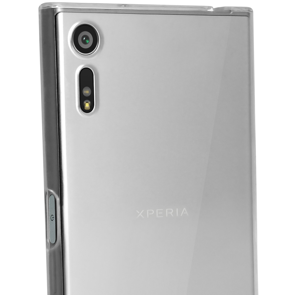 igadgitz glossy tpu gel skin case cover for sony xperia xz. Black Bedroom Furniture Sets. Home Design Ideas