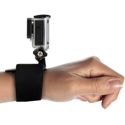 Optix Pro Wrist Strap Mount Thumbscrew for Sports Action Cameras GoPro Fusion, Hero6 Black, Hero5 Black, Hero5 Session, Hero4, Hero3+, Hero3, Hero2, Hero1, Hero Session Thumbnail 2