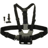 Optix Pro Chest Mount Body Harness for Sports Action Cameras including GoPro Hero5 Black & Session 4 3+ 3 2 1