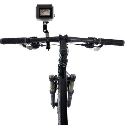 Optix Pro Bicycle Handlebar Mount Clamp Thumbscrew 3 Way Pivot Arm for GoPro Hero5 Black & Session 4 3+ 3 2 1 Thumbnail 2