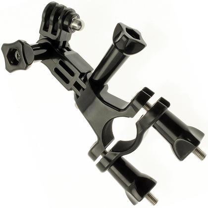 Optix Pro Bicycle Handlebar Mount Clamp Thumbscrew 3 Way Pivot Arm for GoPro Hero5 Black & Session 4 3+ 3 2 1 Thumbnail 1
