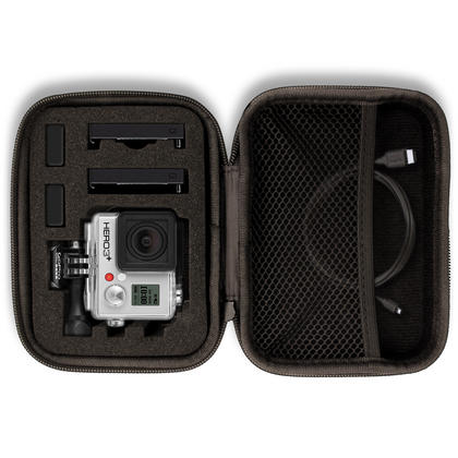 Optix Pro Small EVA Hard Travel Case Cover with Zip Closure & Foam Inserts for  GoPro Hero5 4 3+ 3 2 1 Action Cameras Thumbnail 2