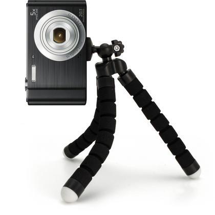 iGadgitz Small Lightweight Flexible Foam Mini Tripod Flexipod Stand for Compact Cameras Thumbnail 2