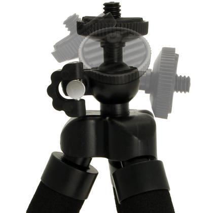 iGadgitz Small Lightweight Flexible Foam Mini Tripod Flexipod Stand for Compact Cameras Thumbnail 3