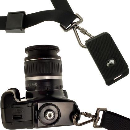 """Optix Pro Universal Quick Neck Shoulder Sling Strap Belt with 1/4"""" Thread for DSLR SLR Bridge Cameras & Video Cameras Thumbnail 3"""