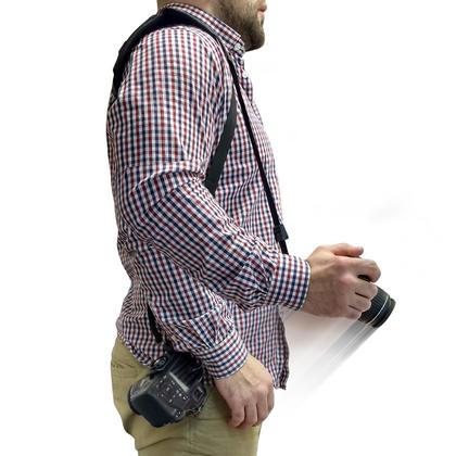 """Optix Pro Universal Quick Neck Shoulder Sling Strap Belt with 1/4"""" Thread for DSLR SLR Bridge Cameras & Video Cameras Thumbnail 2"""