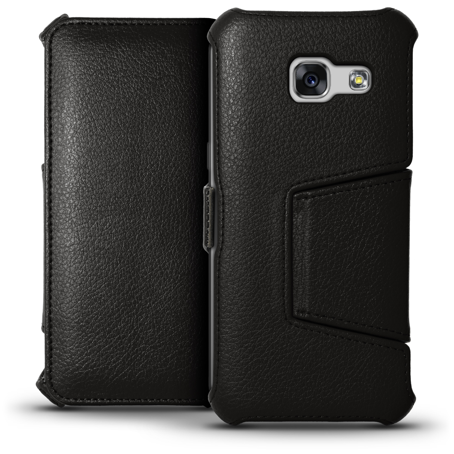pu leather flip case for samsung galaxy a5 2017 stand book folio