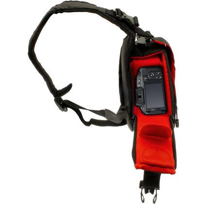 Optix Pro Water Resistant Shoulder Bag for Panasonic DSLR & Bridge Cameras & Lens with Rain Cover and Tripod Holder Thumbnail 2