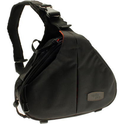 Optix Pro Water Resistant Shoulder Bag for Panasonic DSLR & Bridge Cameras & Lens with Rain Cover and Tripod Holder Thumbnail 1