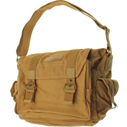 Optix Pro Water Repellent Canvas Messenger Shoulder Bag for SLR DSLR Cameras & Lens Thumbnail 1